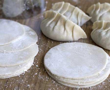 Pasta para Empandillas chinas, Gyozas y Dumplings
